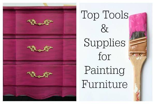 The Diy Designer My Top Tools And Supplies For Painting Furniture