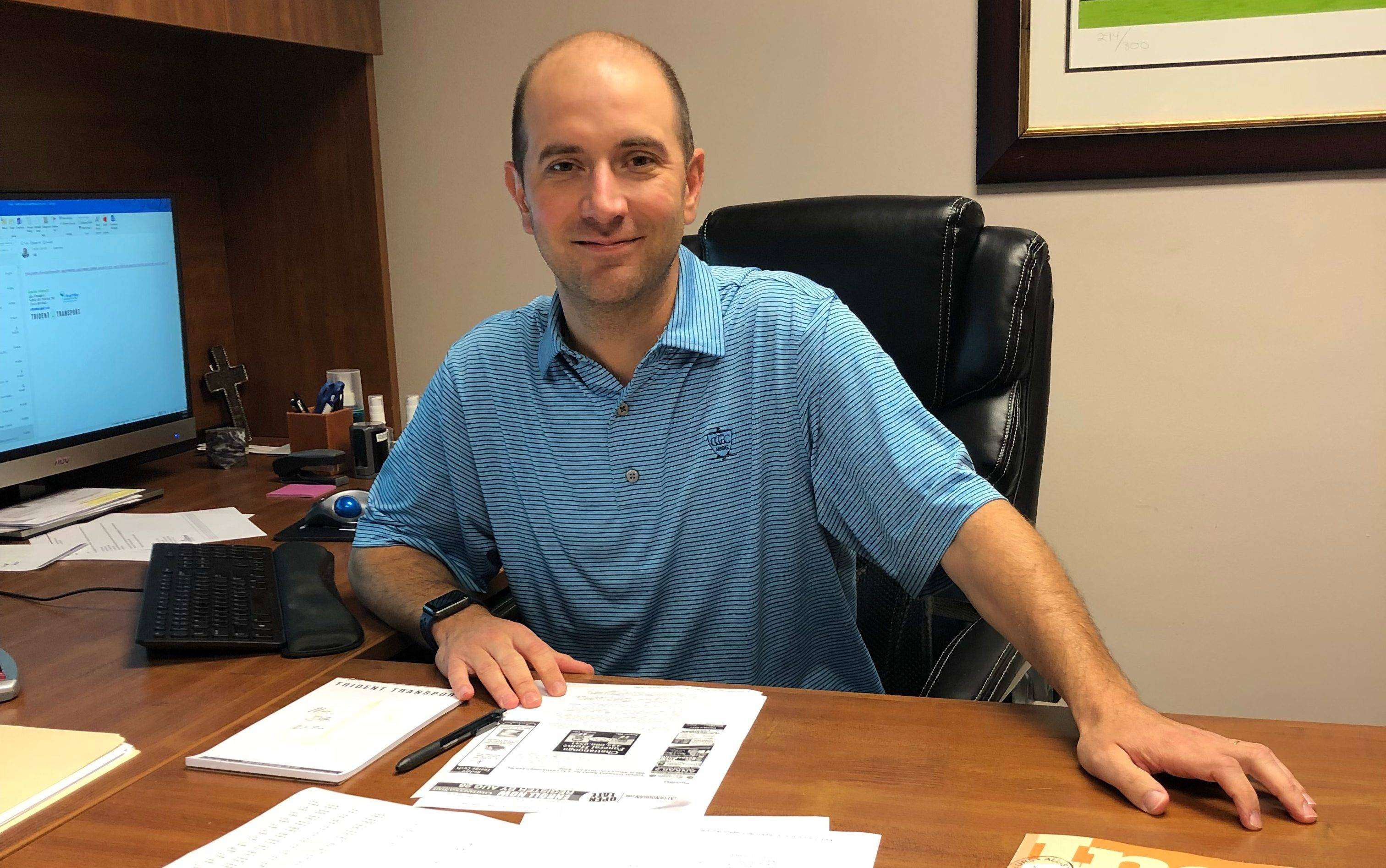 Ask the Exec: Get to know President of Trident Transport