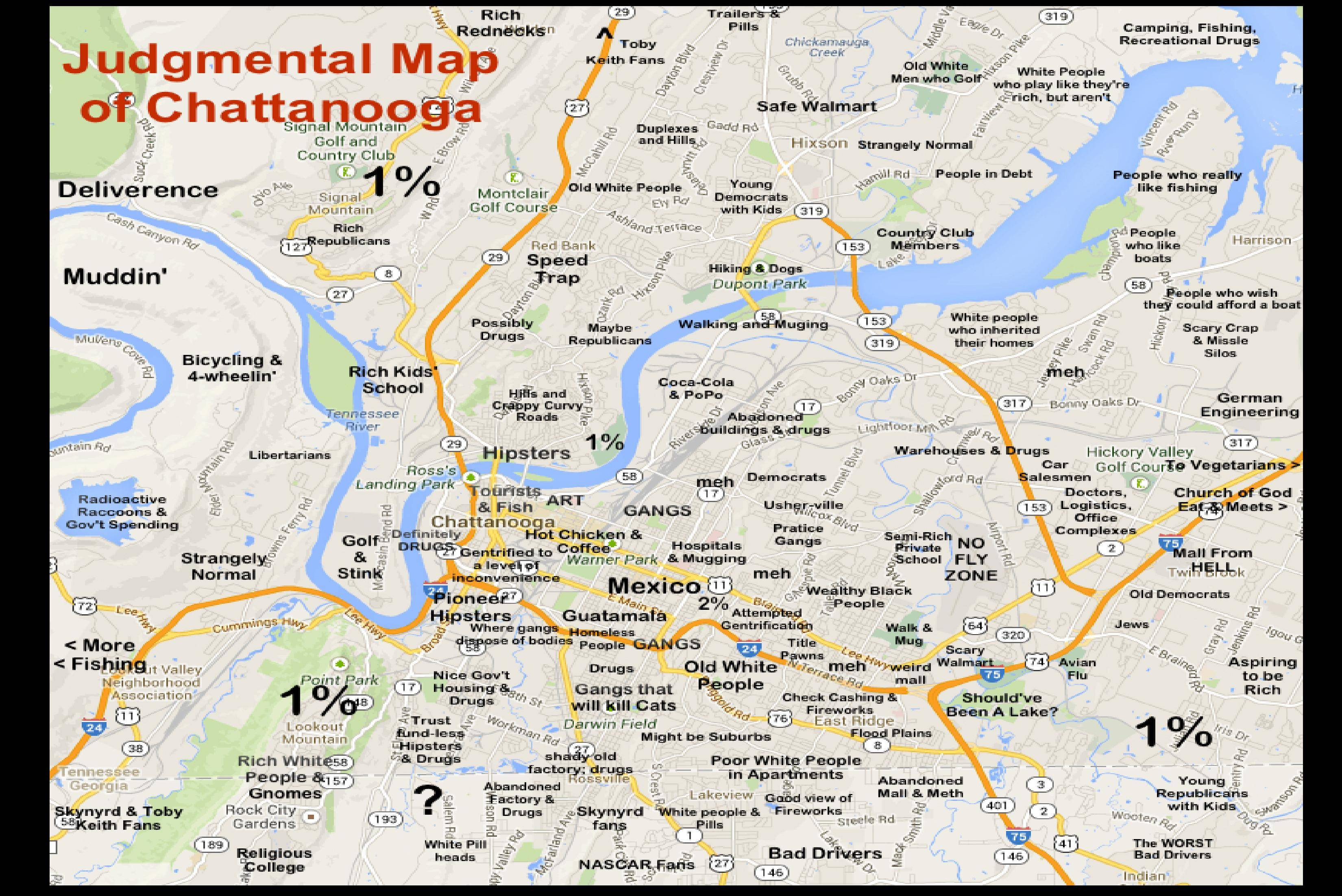 Remember the judgmental map of Chattanooga? Now there are plans for ...