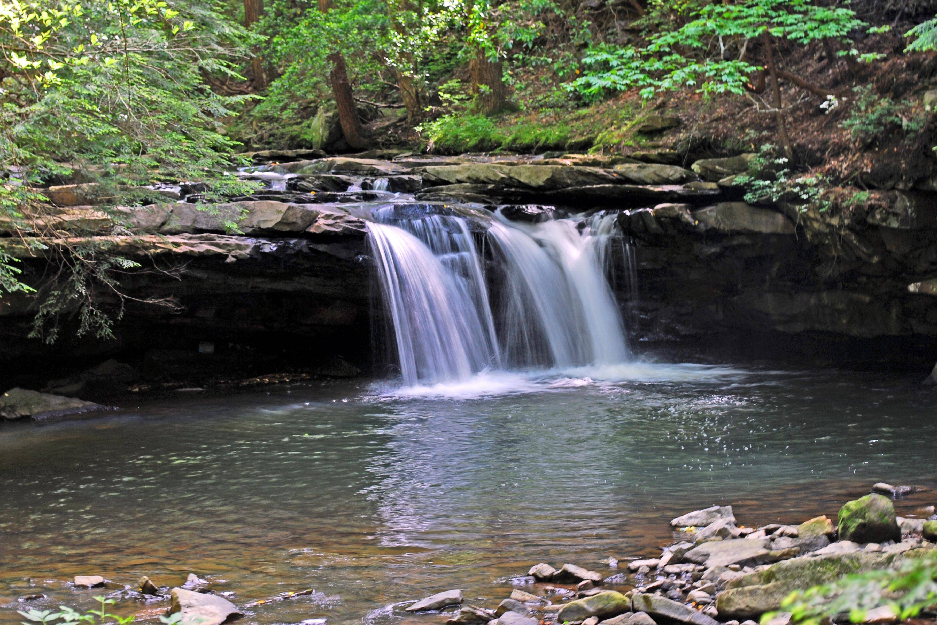1 hike, 5 waterfalls at Grundy Forest - NOOGAtoday