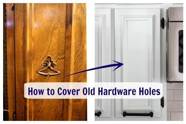 The Diy Designer How To Cover Old Hardware Holes Noogatoday
