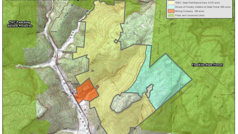 Thousands of acres newly protected on the South Cumberland Plateau ...