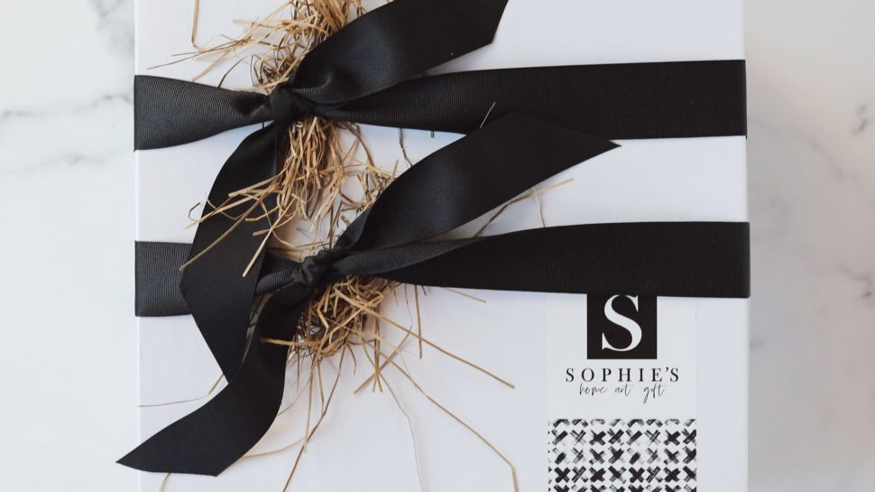 Gift box from Sophie's Shoppe